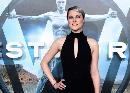 "File photo of cast member Evan Rachel Wood attending the premiere of ""Westworld"" in Hollywood, California"