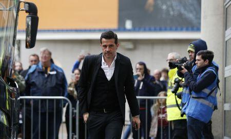 Hull City manager Marco Silva arrives for the match
