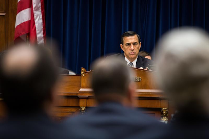 Republicans, like my former bossRep. Darrell Issa (R-Calif.), weaponized their oversight powers during the Obama presidency. Their efforts should now serve as a model for House Democrats. (Drew Angerer via Getty Images)