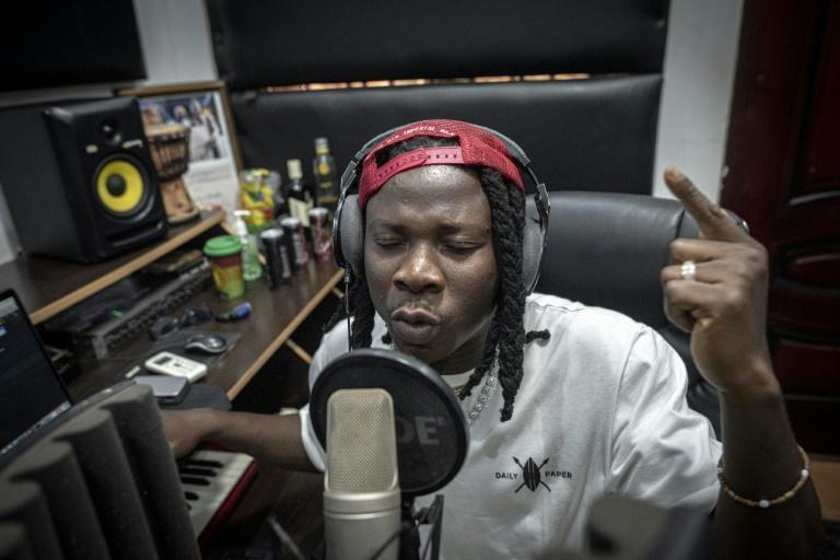 Ghana musician Stonebwoy is one of the stars of the country's Afrobeats scene