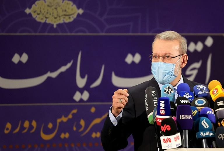 Iran's former parliament speaker and nuclear negotiator Ali Larijani, a moderate conservative, was unexpectedly barred from the presidential race