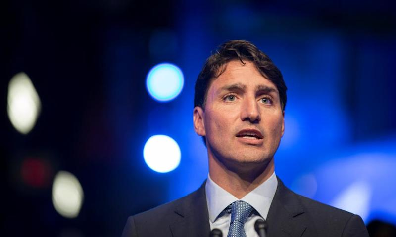 Justin Trudeau said his government was engaging with Saudi Arabia to resolve the spat but stood firm on Canada's stance.