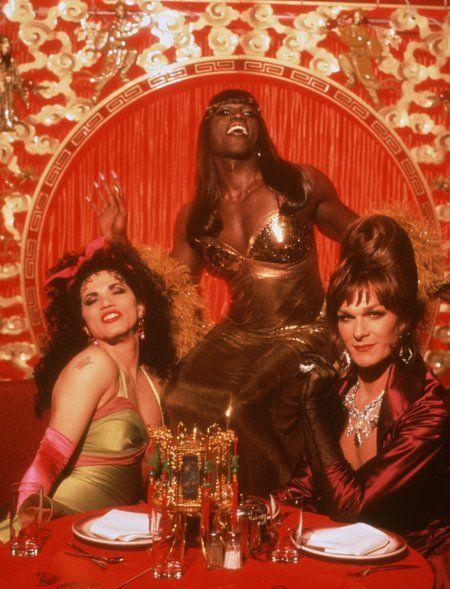 """<p>The 1995 comedy film stars Wesley Snipes, Patrick Swayze, and John Leguizamo as three New York City drag queens who go on a road trip. The movie's long title refers to an autographed photo of Julie Newmar that the trio take with them on the trip, and the film is chock full of cameos: Naomi Campbell, Candis Cayne, RuPaul, Joseph Arias, Robin Williams, and Julie Newmar herself.</p><p><a class=""""link rapid-noclick-resp"""" href=""""https://www.netflix.com/title/60026477"""" rel=""""nofollow noopener"""" target=""""_blank"""" data-ylk=""""slk:Stream it here"""">Stream it here</a></p>"""
