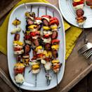 <p>The classic flavors of jambalaya come together in these easy-peasy smoked sausage kebabs. Celery is one of the classic flavors in traditional jambalaya, so we included a pinch of celery seed in the marinade.</p>