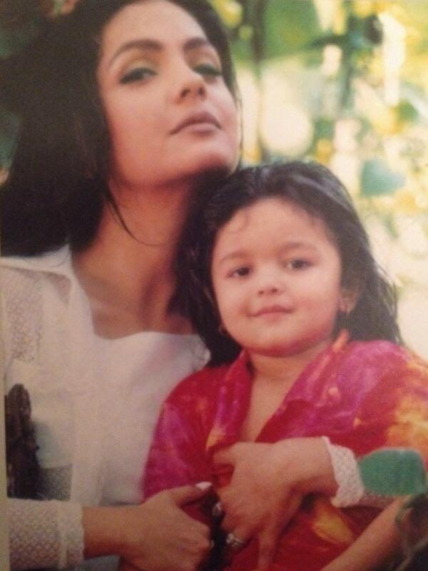 <p>Daughter of Mahesh Bhatt and Soni Razdan, Alia was the cutest little chubby baby. Did you know, as a child, Alia played the younger version of Preity Zinta in 'Sangharsh'? </p>