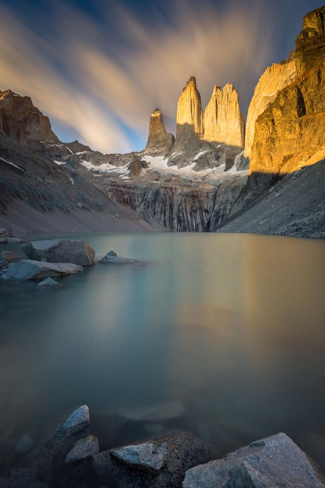 <p>If you're looking to get off the grid, head to Chile's Patagonia region for some of the most beautiful mountain views you'll ever see.</p>