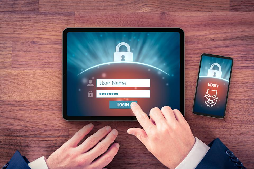 Two-factor authentication and face identification can keep your email account extra secure. (Photo: Getty)
