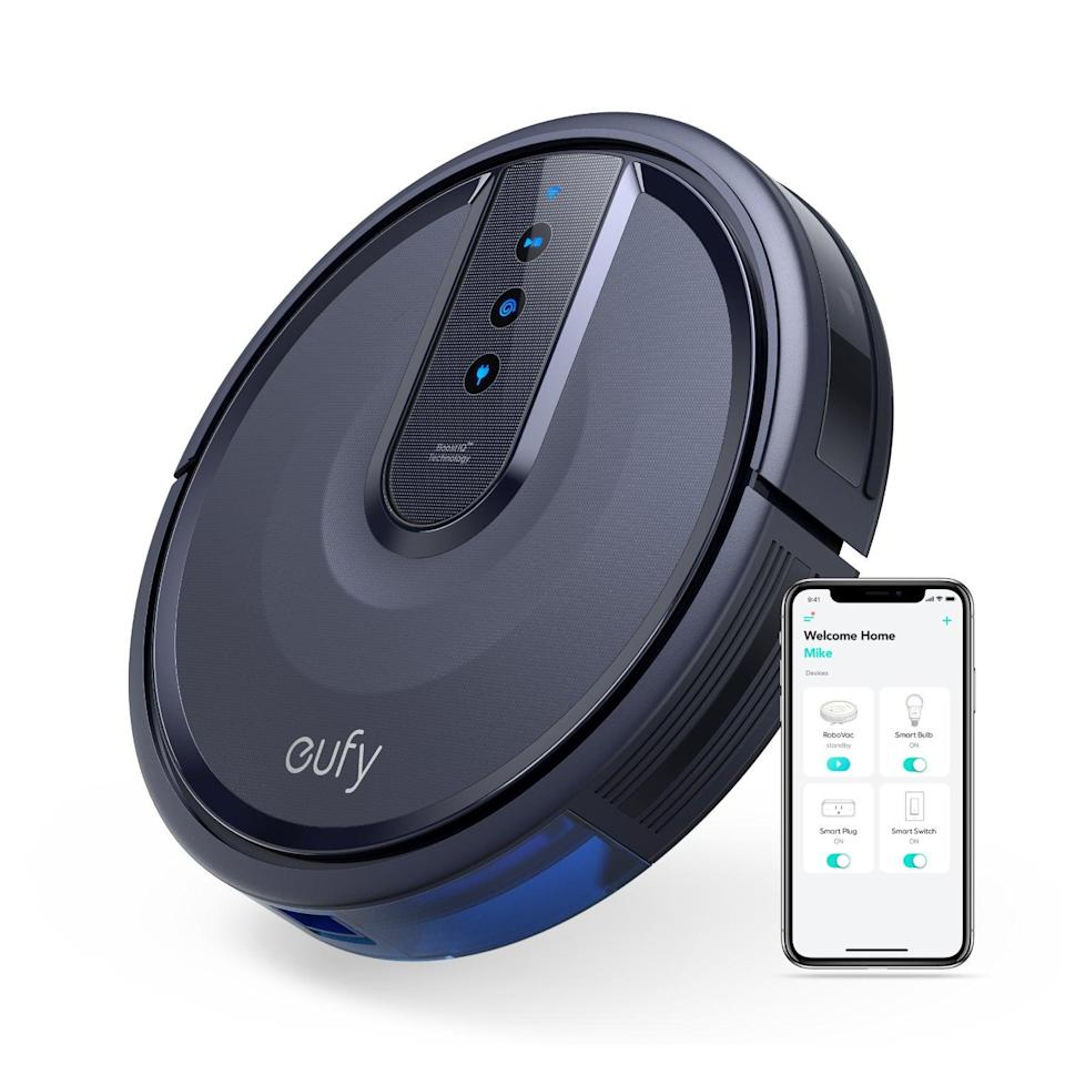 "<br><br><strong>eufy</strong> Eufy RoboVac Wi-Fi Connected Vacuum, $, available at <a href=""https://go.skimresources.com/?id=30283X879131&url=https%3A%2F%2Ffave.co%2F3eJnxkT"" rel=""nofollow noopener"" target=""_blank"" data-ylk=""slk:Walmart"" class=""link rapid-noclick-resp"">Walmart</a>"