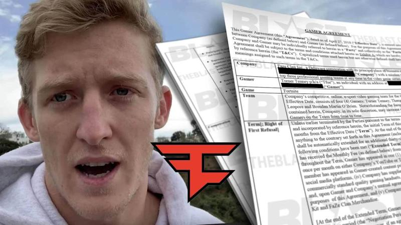 Contract with FaZe Clan