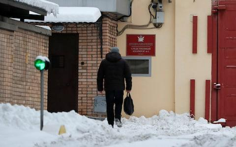 A view shows Lefortovo pre-trial detention centre in Moscow - Credit:  REUTERS