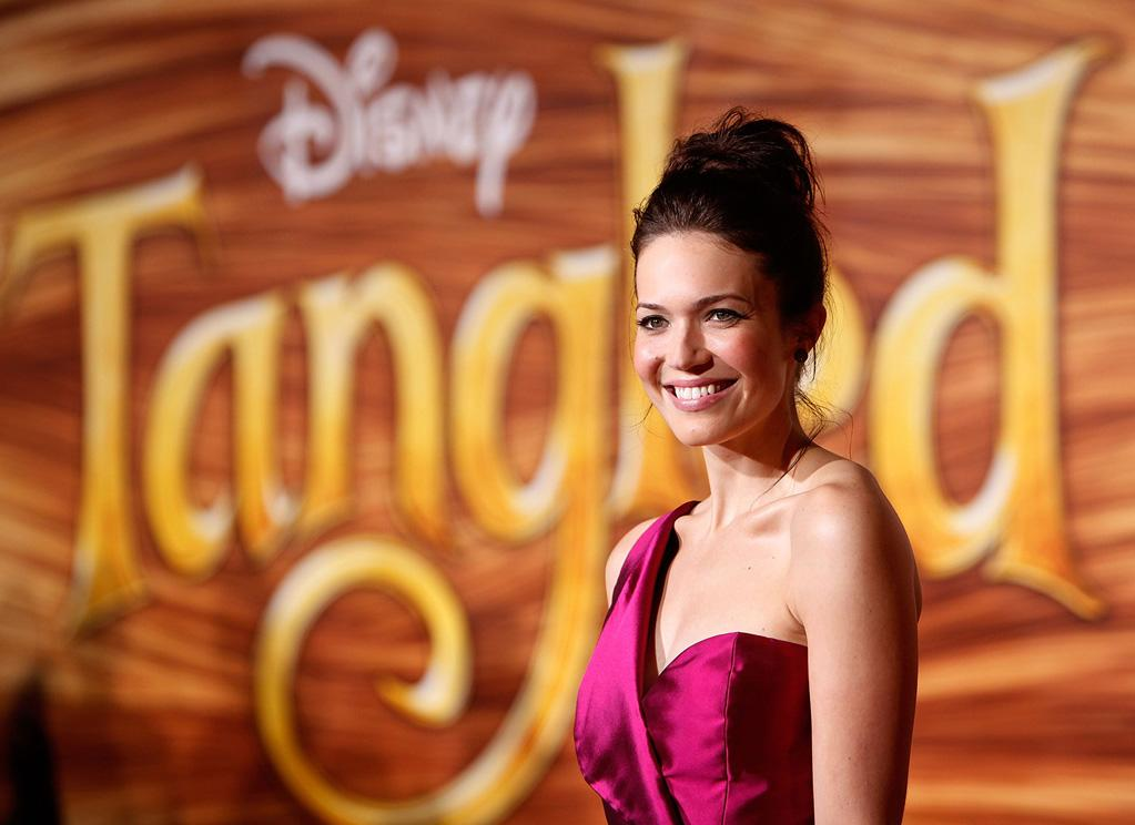 """<a href=""""http://movies.yahoo.com/movie/contributor/1802753883"""">Mandy Moore</a> attends the Los Angeles premiere of <a href=""""http://movies.yahoo.com/movie/1810121160/info"""">Tangled</a> on November 14, 2010."""