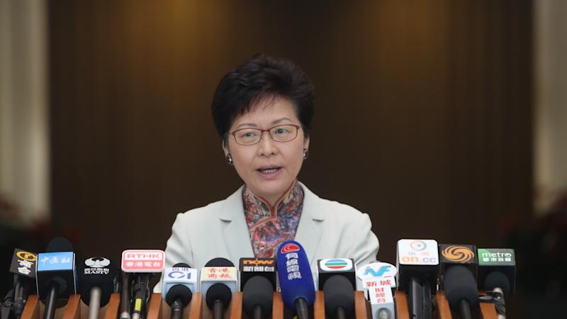Pro-Beijing politician's attack on Hong Kong judges as 'sinners of society' earns stiff rebuke from leader Carrie Lam