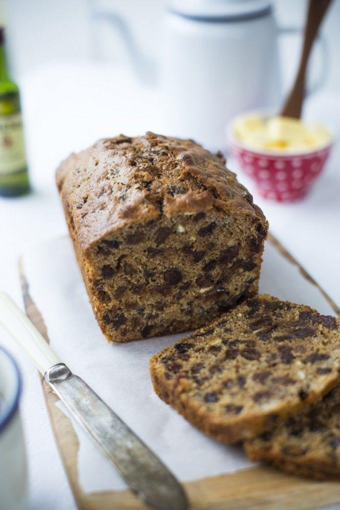 """<p>Soak dried fruit in whisky to add a bold flavor to this fruit cake loaf. </p><p><span class=""""redactor-invisible-space""""><em><a href=""""http://www.donalskehan.com/recipes/halloween-barmbrack/"""" rel=""""nofollow noopener"""" target=""""_blank"""" data-ylk=""""slk:Get the recipe from Donal Skehan »"""" class=""""link rapid-noclick-resp"""">Get the recipe from Donal Skehan »</a></em></span><span class=""""redactor-invisible-space""""><br></span></p>"""