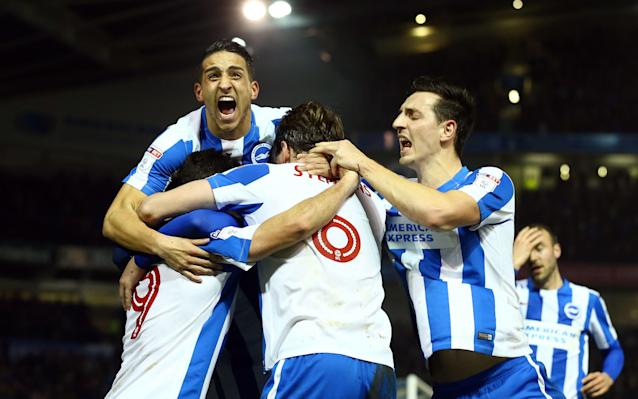 <span>Brighton have won six of their last seven matches</span> <span>Credit: PA </span>