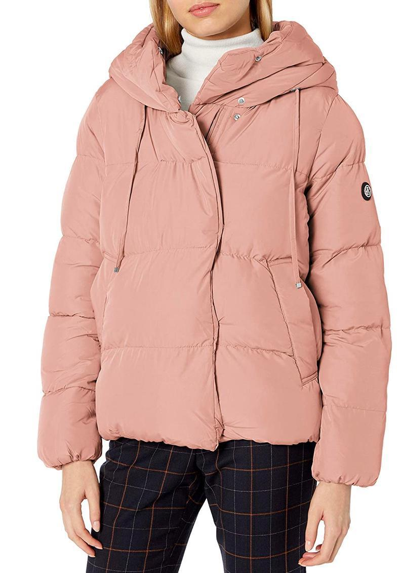 """Looking for something marshmallow-adjacent? Consider this cute puffer from Jessica Simpson's clothing line, also available in leopard print, black, and more, if dusty pink isn't your thing. $31, Amazon. <a href=""""https://www.amazon.com/Jessica-Simpson-Womens-Puffer-Jacket/dp/B07R1DPSC3/"""" rel=""""nofollow noopener"""" target=""""_blank"""" data-ylk=""""slk:Get it now!"""" class=""""link rapid-noclick-resp"""">Get it now!</a>"""