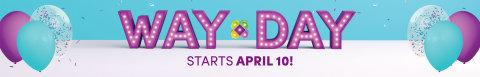 Wayfair Announces Way Day 2019 – Launches Biggest Sales Event of the Year on April 10th