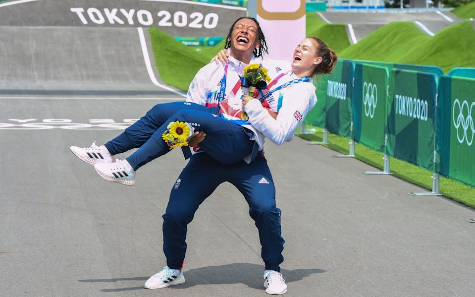 Kye Whyte - From riding a second-hand bike to winning Olympic gold – Bethany Shriever's mother says BMX star proves 'normal' kids can win - PAUL GROVER/THE TELEGRAPH