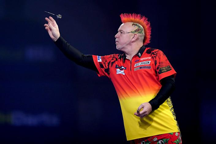 Peter Wright has won the World Matchplay for the first time (John Walton/PA) (PA Archive)