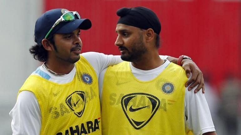 Harbhajan and Sreesanth immediately settled their differences