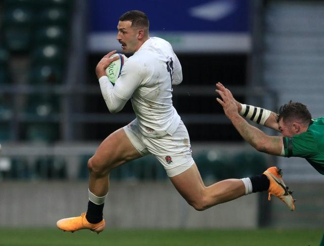 Jonny May scores one of the greatest tries seen at Twickenham