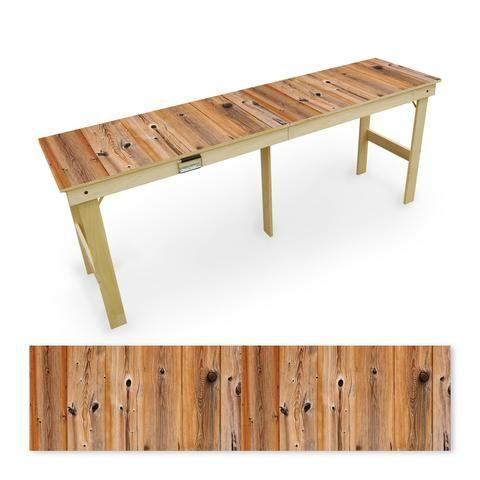 """<p>slickwoodys.com</p><p><strong>$275.00</strong></p><p><a href=""""https://www.slickwoodys.com/products/natural-shiplap-tailgate-table"""" rel=""""nofollow noopener"""" target=""""_blank"""" data-ylk=""""slk:Shop Now"""" class=""""link rapid-noclick-resp"""">Shop Now</a></p><p>Get all the cousins to chip in on this tailgate table that he will use for years to come. This nifty (and good-looking) <em>Country Living</em> table will truly up his tailgate game, plus it folds up for easy carrying and storage </p>"""