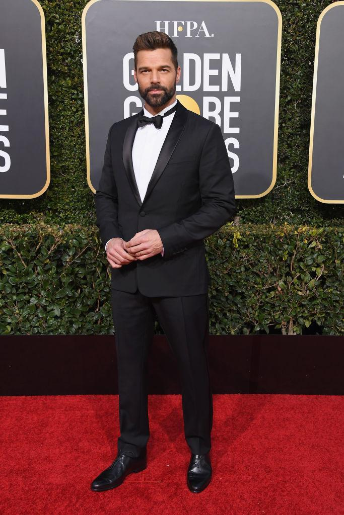 <p>Ricky Martin attends the 76th Annual Golden Globe Awards at the Beverly Hilton Hotel in Beverly Hills, Calif., on Jan. 6, 2019. (Photo: Getty Images) </p>