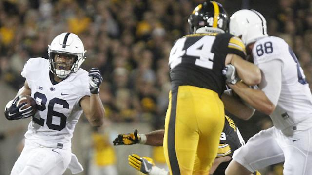 Penn State's Saquon Barkley proved he's the best player in college football again through the Nittany Lions' thrilling victory against Iowa. How can you argue?