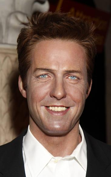 Wax figure of Hugh Grant