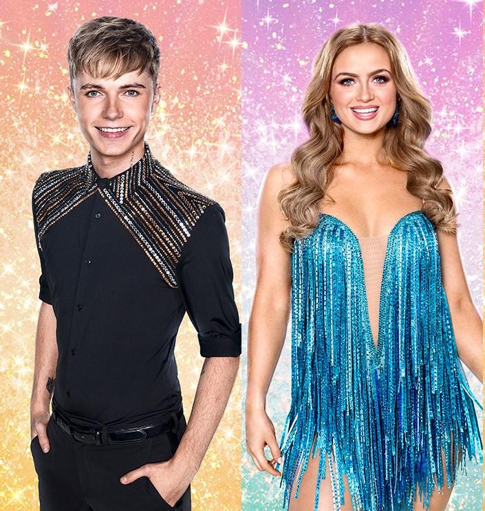 HRVY and Maisie Smith were Strictly finalists (BBC)