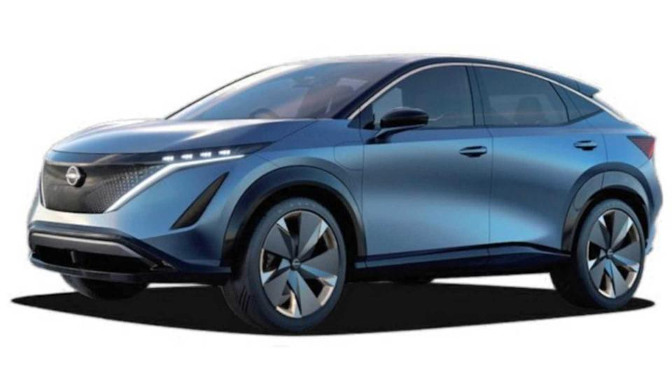 This Is The Nissan Ariya, The Child Leaf Had With The Rogue