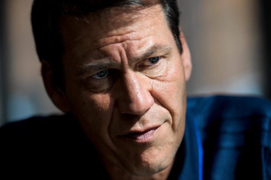 Olympique de Marseille's French head coach Rudi Garcia speaks during an interview during a pre-season's training camp of the French L1 football club in Lausanne (AFP Photo/Fabrice COFFRINI)