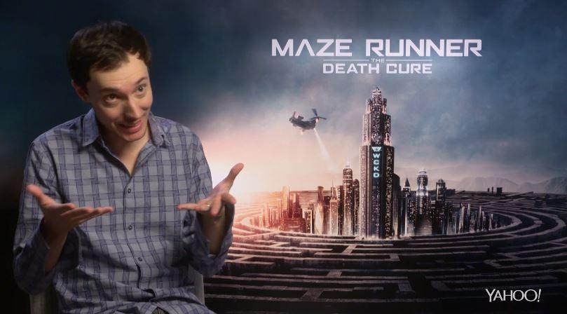 Wes Ball, director of 'Maze Runner: The Death Cure'