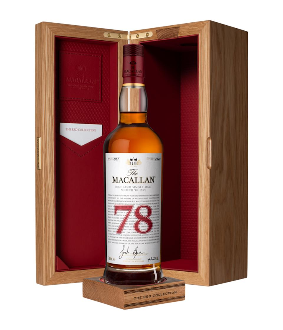Macallan The Red Collection神級威士忌真正風味 超珍稀作品全球開賣