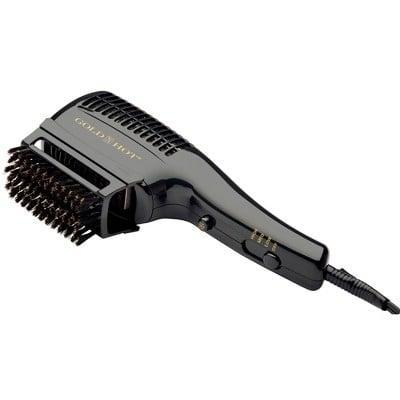 <p>The <span>Gold N Hot Professional Styler and Hair Dryer</span> ($38) comes with a series of attachments for all of your smoothing and drying needs, leaving you with a professional-looking blowout that doesn't involve you leaving your bathroom.</p>
