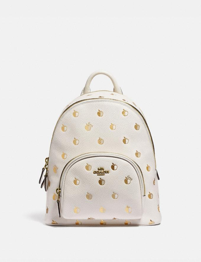 Carrie Backpack 23 With Apple Print - $255 (originally $425)