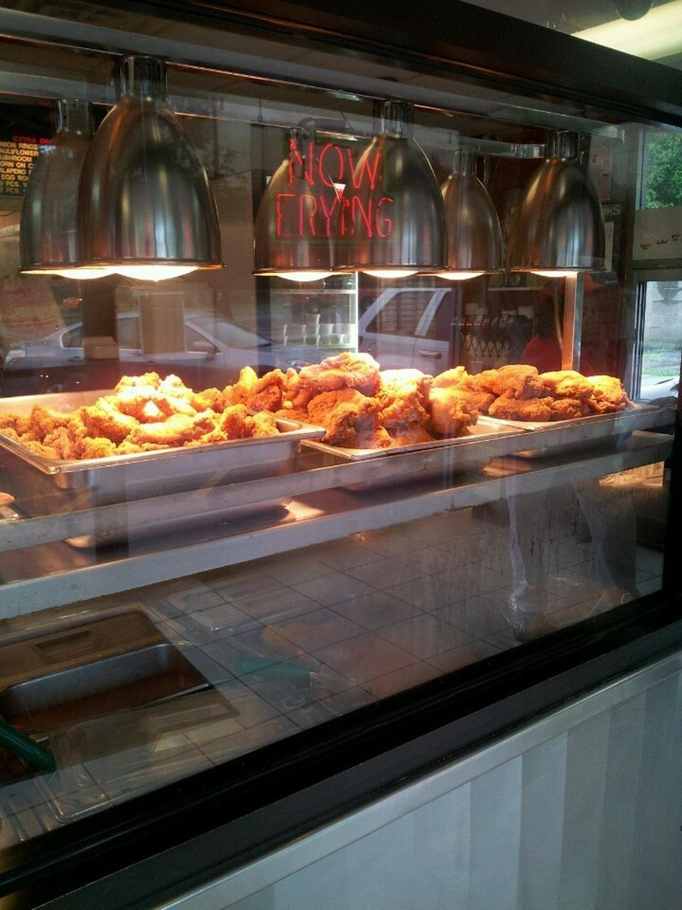 """<p><a href=""""https://www.tripadvisor.com/Restaurant_Review-g39588-d2083808-Reviews-Indi_s_Fried_Chicken-Lexington_Kentucky.html"""" rel=""""nofollow noopener"""" target=""""_blank"""" data-ylk=""""slk:Indi's Fast Food"""" class=""""link rapid-noclick-resp"""">Indi's Fast Food</a>, Lexington</p><p>Hands down the best <span class=""""entity tip_taste_match"""">drive thru</span> place in Lexington. The <span class=""""entity tip_taste_match"""">fried chicken</span> is fantastic and the prices are impossible to beat! I'm from Kentucky and Indi's over KFC any day. My mouth is watering now ...<span class=""""redactor-invisible-space""""> - Foursquare user <a href=""""https://foursquare.com/user/109077326"""" rel=""""nofollow noopener"""" target=""""_blank"""" data-ylk=""""slk:davin hammond"""" class=""""link rapid-noclick-resp"""">davin hammond</a></span><br></p>"""