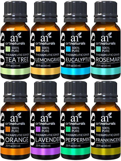 """<strong>Amazon Rating</strong>: 4.2 stars<br /><br />This aromatherapy <a href=""""https://www.amazon.com/ArtNaturals-Therapeutic-Grade-Aromatherapy-Essential-Oil/dp/B01161IL20?ref_=fsclp_pl_dp_4"""" target=""""_blank"""" rel=""""noopener noreferrer"""">set of essential oils</a> includes scents known to evoke calm and relaxation like lavender and tea tree alongside more unique scents like eucalyptus and frankincense. Get the <a href=""""https://www.amazon.com/ArtNaturals-Therapeutic-Grade-Aromatherapy-Essential-Oil/dp/B01161IL20?ref_=fsclp_pl_dp_4"""" target=""""_blank"""" rel=""""noopener noreferrer"""">ArtNaturals Therapeutic-Grade Aromatherapy Essential Oil Set here</a>."""