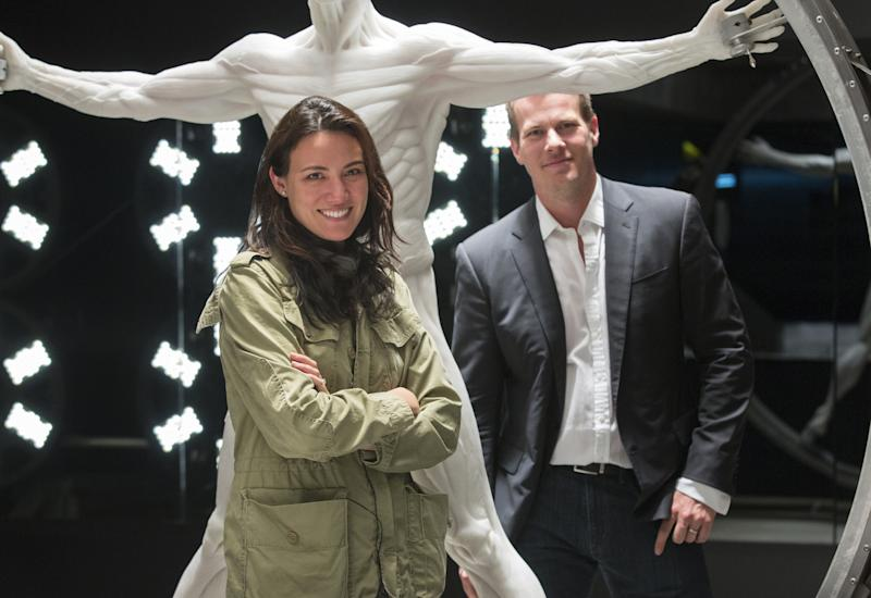 Lisa Joy and Jonathan Nolan, creators of HBO's 'Westworld'. (PHOTO: HBO)