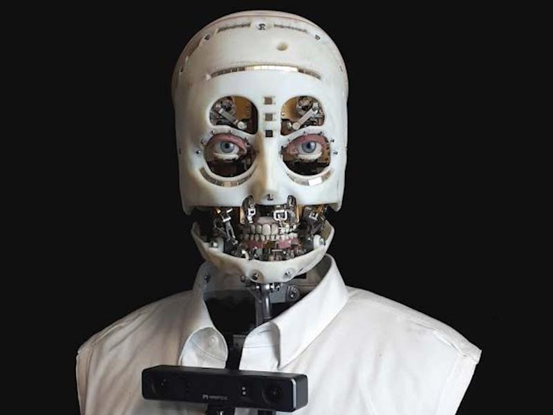 Disney unveiled an animatronic robot with the same gaze as humans built to create 'the illusion of life'