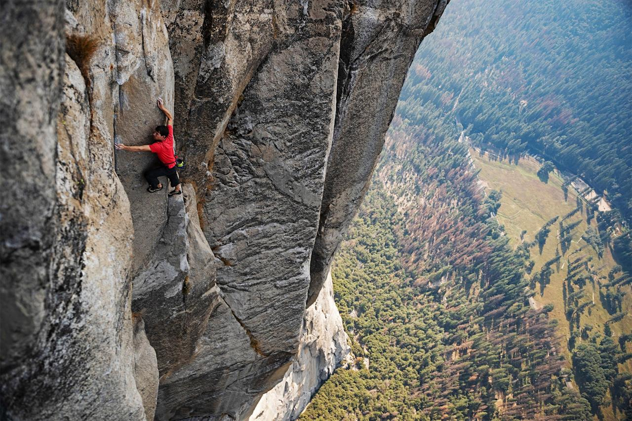 This 2018 Oscar-winning documentary is a series of incredible shots of mountains and the clinically fearless man obsessed with climbing them. Come for the thrills of watching climber <strong>Alex Honnold</strong> risk his life in the name of making history, stay for the gratuitous mountain and forest porn.