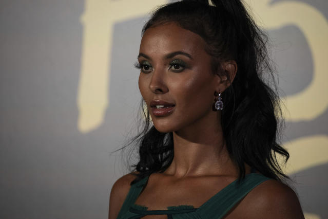 Maya Jama poses for photographers upon arrival at the Fashion For Relief charity event in central London, Saturday, Sept. 14, 2019. (Photo by Vianney Le Caer/Invision/AP)