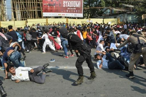 Parts of India's far-flung northeast have been rocked by three straight days of demonstrations