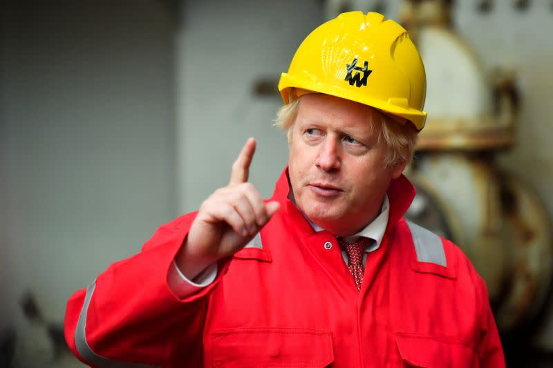 UK PM Johnson 'really pleased' with work done to reopen schools