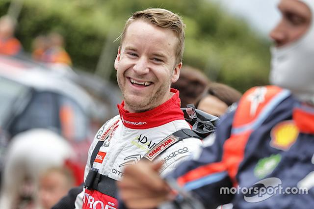 "Mads Ostberg, Citroën World Rally Team <span class=""copyright"">Citroën Communication</span>"