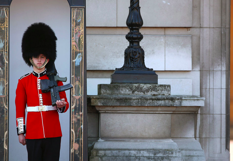 Security: The guardsman (not pictured) claimed he nearly shot the Queen (Getty/file picture)