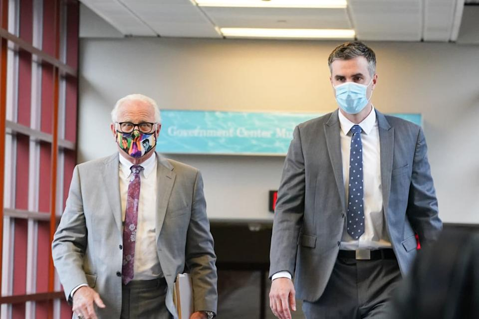 """<div class=""""inline-image__caption""""><p>Thomas Lane, right, at a previous court hearing with attorney Earl Gray.</p></div> <div class=""""inline-image__credit"""">TNS/ABACA via Reuters Connect</div>"""