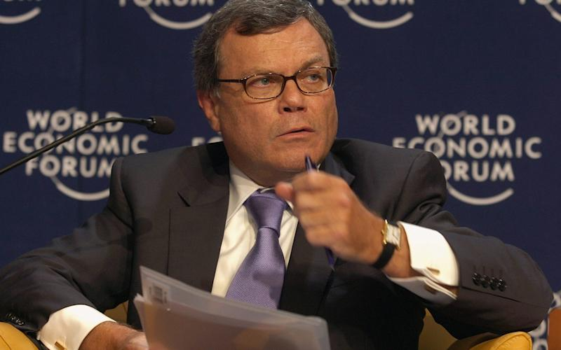 WPP boss Martin Sorrell said 2017 was the advertising sector's worst year in a decade - Keystone