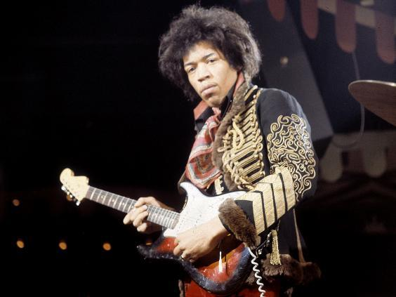 Seattle-born Hendrix hooked up with the Experience in London in 1966, and recorded their seminal debut in the capital (Rex)