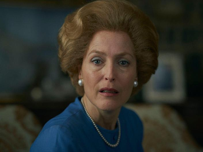 """Gillian Anderson on season four of """"The Crown."""""""