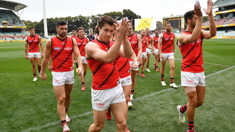 AFL CROWS BOMBERS